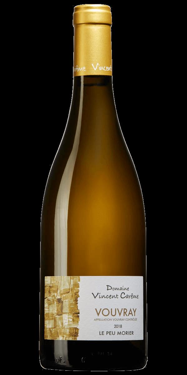 Produktbild för Vouvray Le Peu Morier 2018