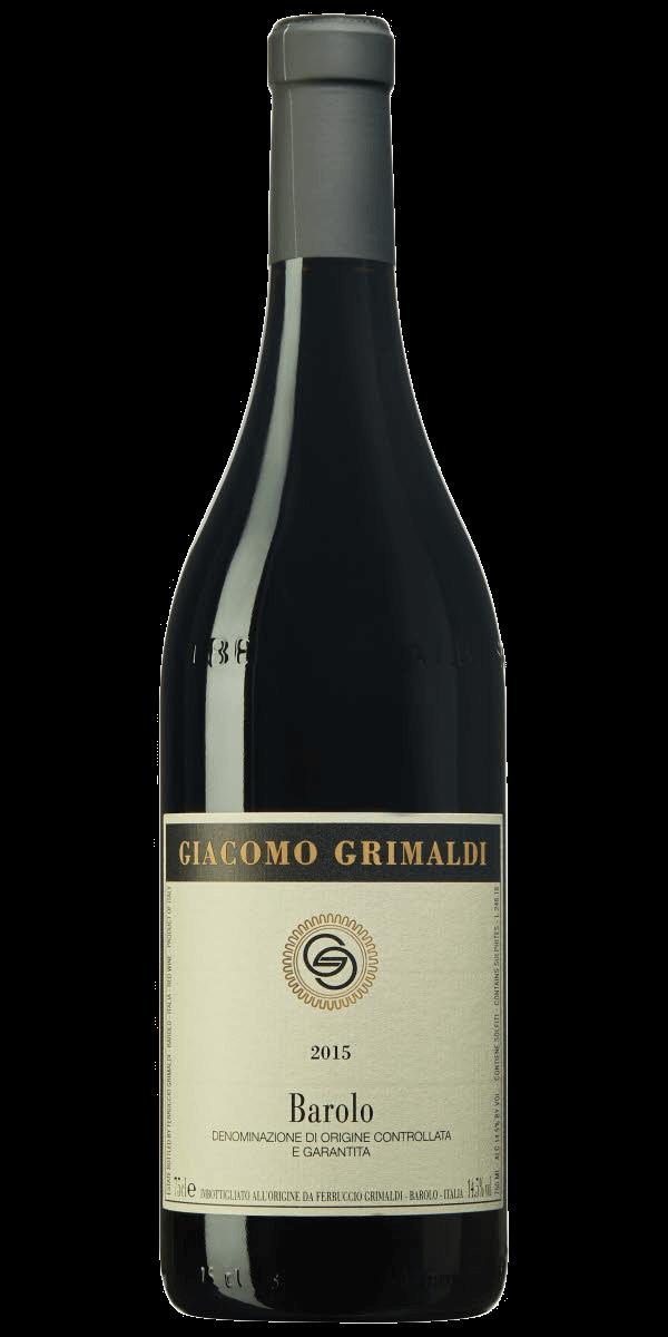 Produktbild för Giacomo Grimaldi Barolo 2015