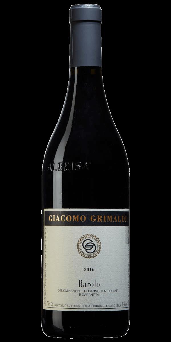 Produktbild för Giacomo Grimaldi Barolo 2016