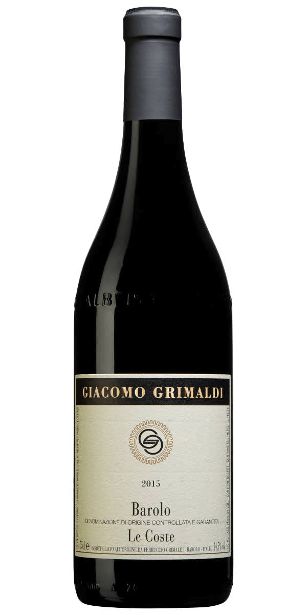 Produktbild för Giacomo Grimaldi Barolo Le Coste 2015