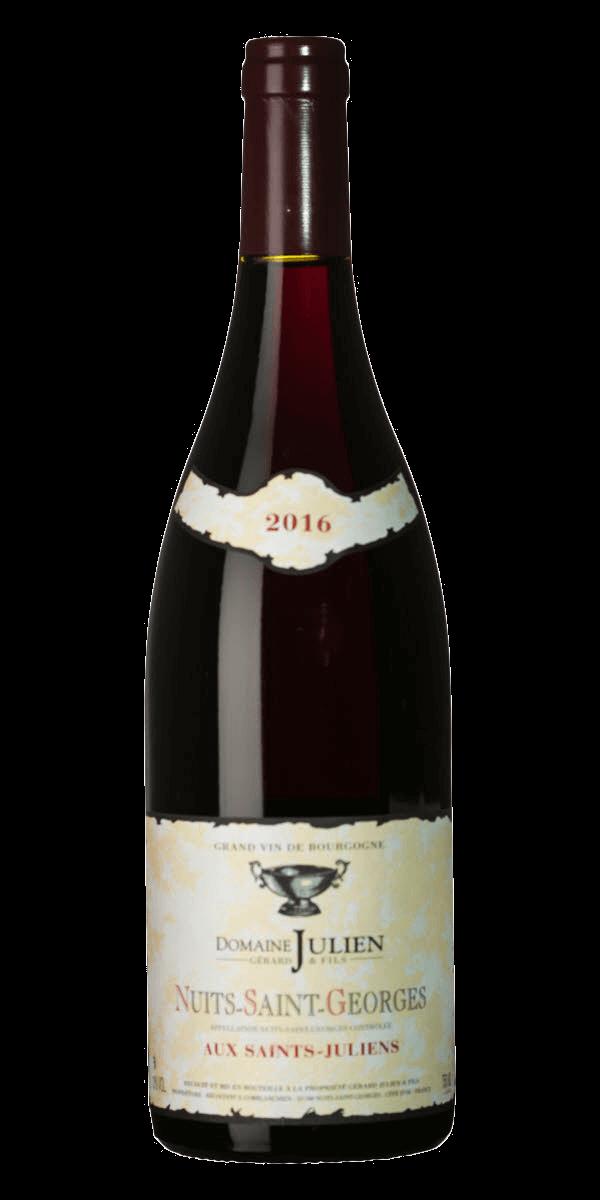 Produktbild för Nuits-Saint-Georges Aux Saints-Juliens 2016