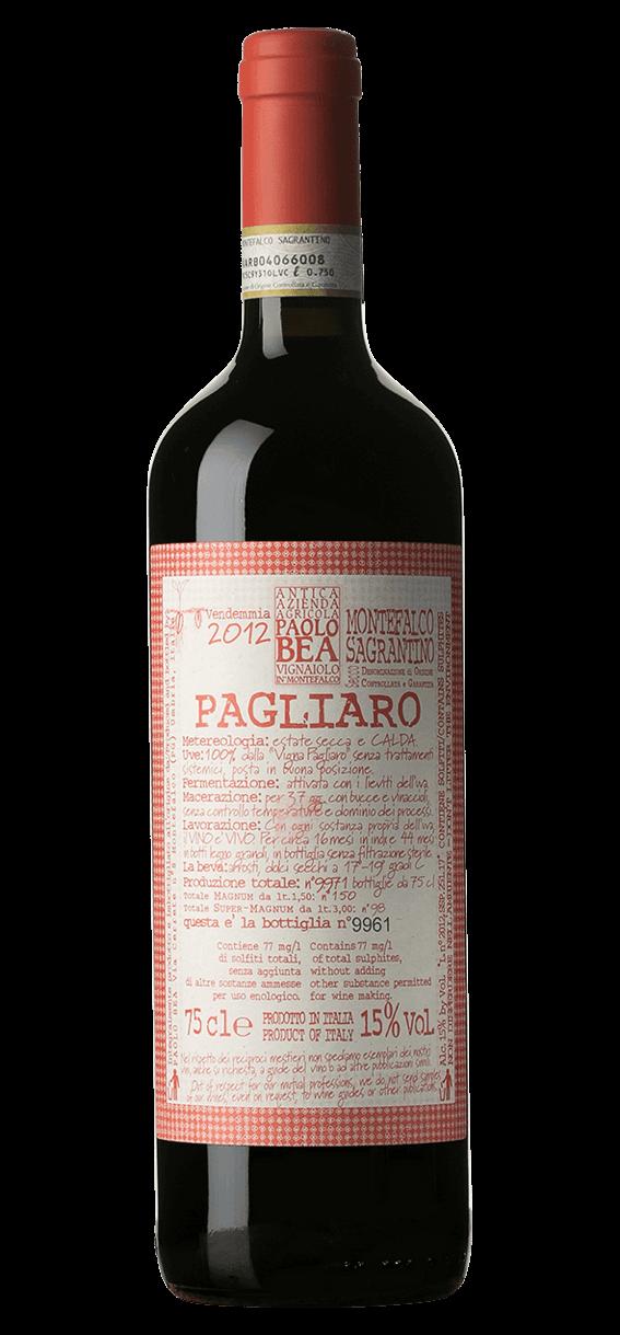 Produktbild för Pagliaro Montefalco Sagrantino 2012