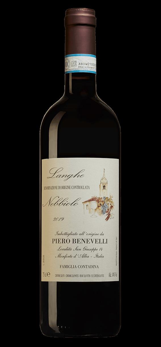 Produktbild för Langhe Nebbiolo 2019